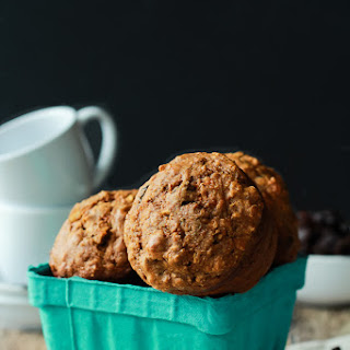 Oat Carrot Cake Muffins