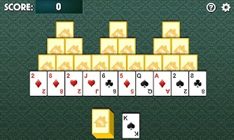 Screenshot of Tri Peaks Solitaire Free
