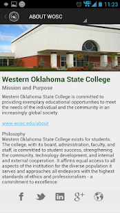WOSC.EDU - screenshot thumbnail