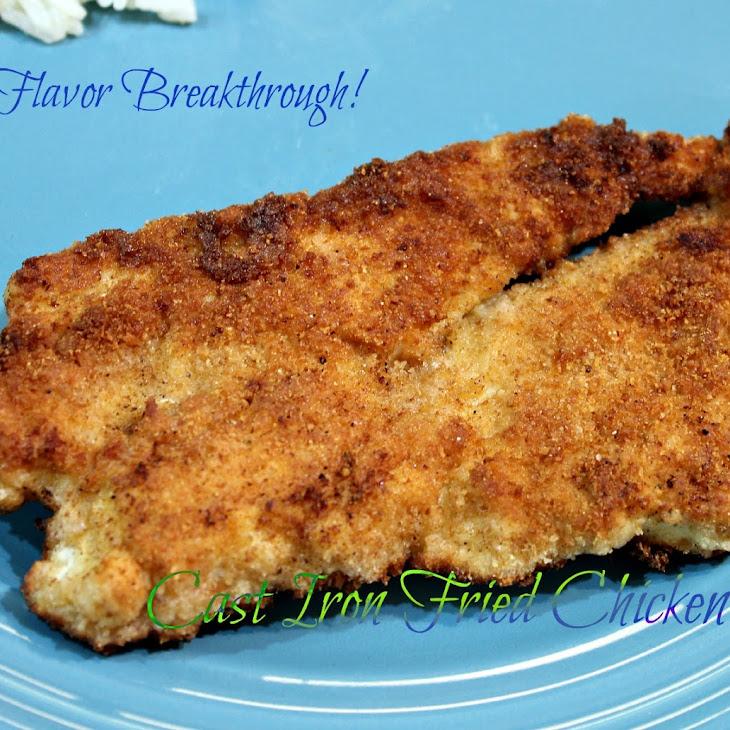 Cast Iron Fried Chicken!