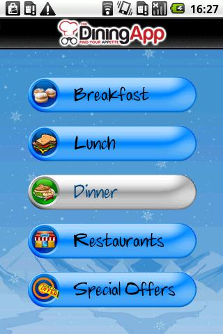 The DiningApp  Vail Valley - screenshot