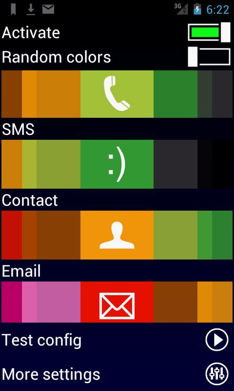 Call Actions - screenshot