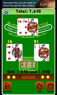 BlackJack Casino Card Game- screenshot thumbnail