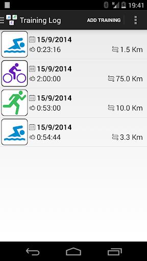 Triathlon Training Log