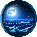 Relaxing nature Moon LWP icon