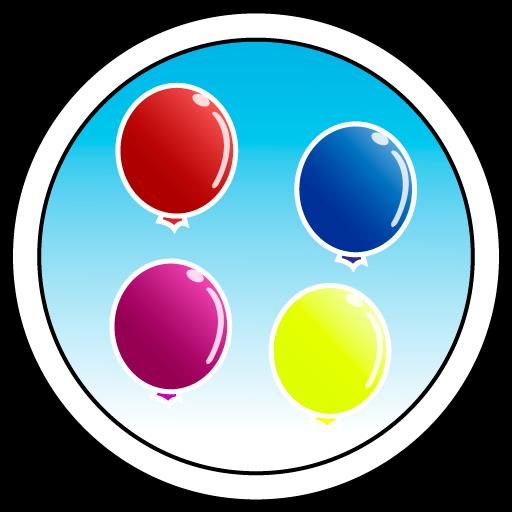 休闲の風船を破裂 LOGO-記事Game