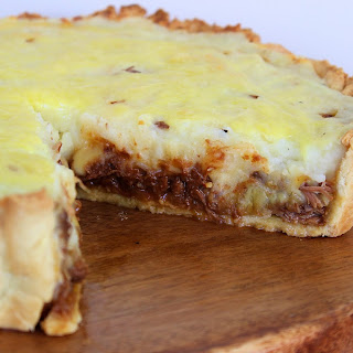 Steak and Cheese Pie.