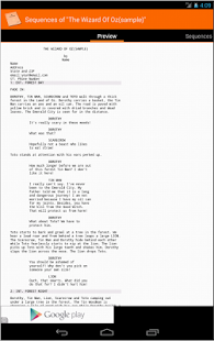 MyScreenplays Free - screenshot thumbnail