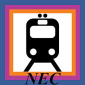 NJ Transit NEC Departures