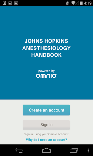 Johns Hopkins Anesthesiology