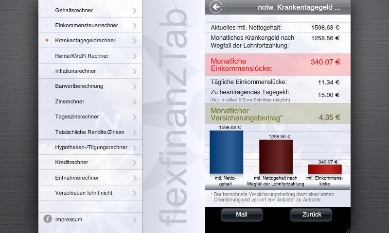 flexfinanz12Tab- screenshot