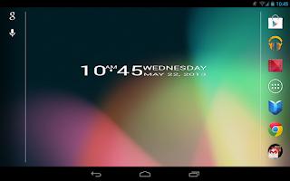 Screenshot of 6DOT7 BLOCK CLOCK LITE