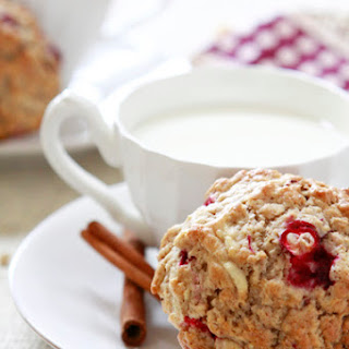 Apple Cranberry Oatmeal Muffins.