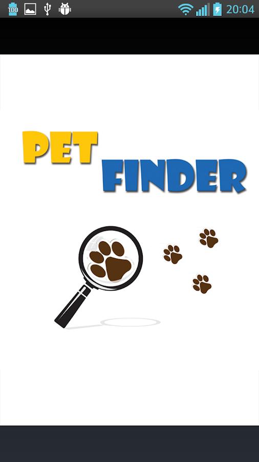 Pet Finder - στιγμιότυπο οθόνης