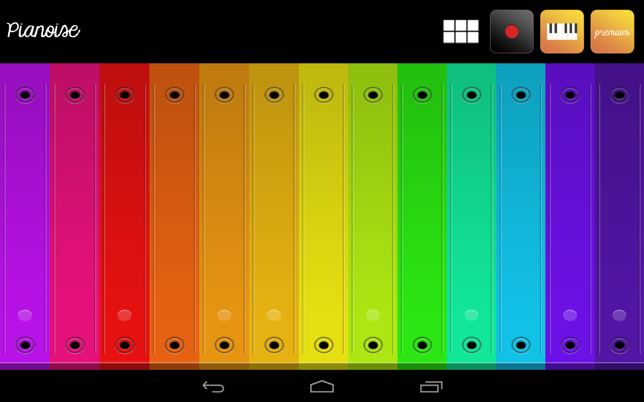 Sound Piano for Kids Pianoise- screenshot