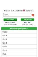 Screenshot of Orthographe Anglais
