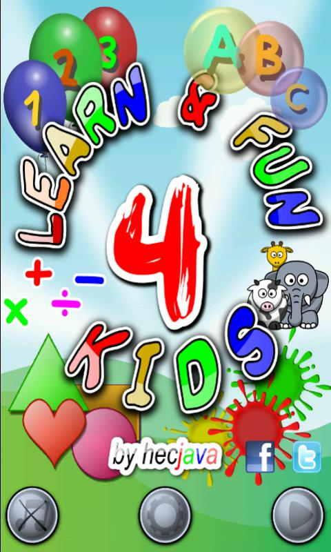 LEARN & FUN 4 KIDS- screenshot