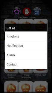 Horror Scary Ringtones - screenshot thumbnail