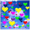 Heart Balloons Live Wallpaper icon