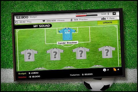 Football Team Manager- screenshot
