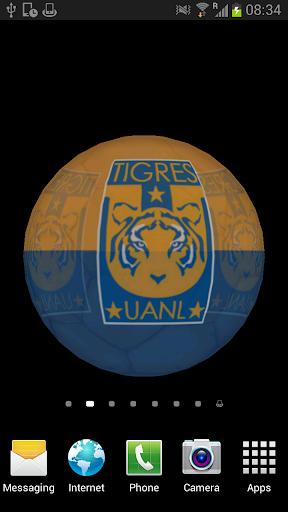 Ball 3D Tigres UANL LWP