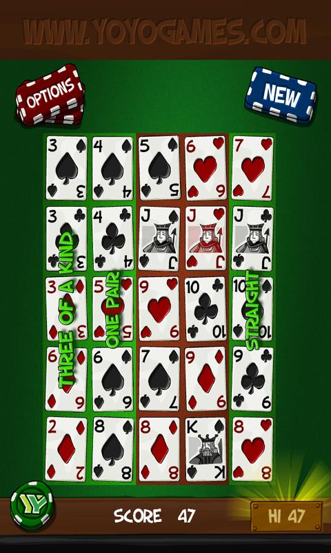 Simply Poker Squares - screenshot