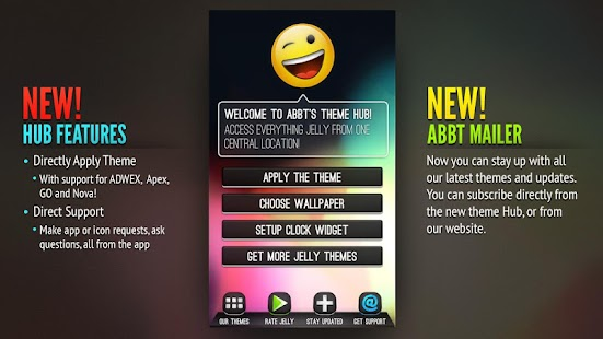 Jelly Theme | ADW Apex GO Nova - screenshot thumbnail