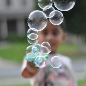 Good Day for some Bubbles.... by Abe Liza Lana Logan - Babies & Children Children Candids