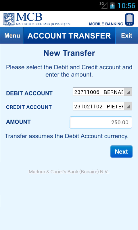 Banking- screenshot