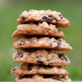 Rum Raisin Oatmeal Cookies.
