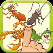 Smash angry bugs