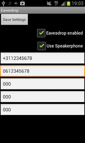 Eavesdrop Screenshot