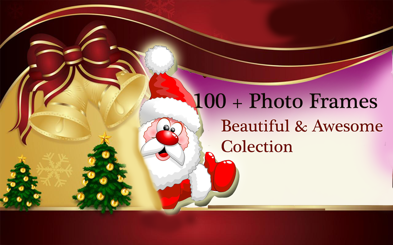 christmas photo frame android apps on google play