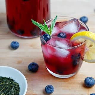 Blueberry Iced Green Tea.