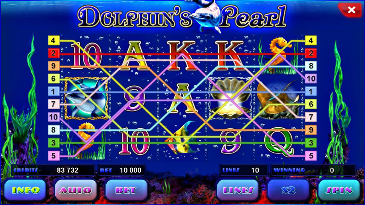 roulettes casino online dolphin pearls