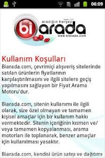 Biarada Fiyat Arama Motoru - screenshot thumbnail