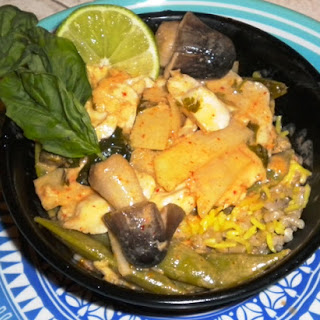 Fish With Red Curry.