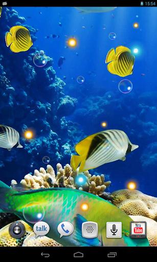 Oceanic Life HQ live wallpaper