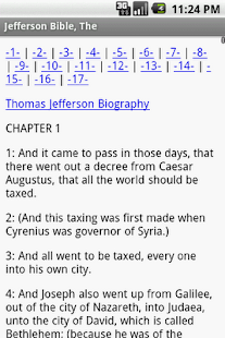 The Jefferson Bible - screenshot thumbnail