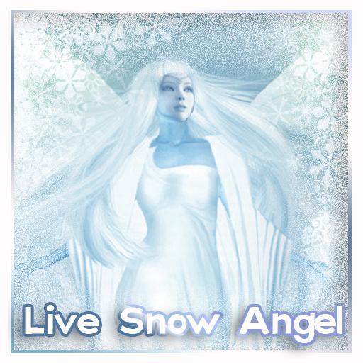Snow Live Wallpaper: Snow Angel Live Wallpaper (1.20 Mb)
