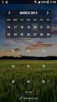 Screenshot of Calendar Widget Month + Agenda