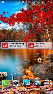 YouTube Subscriber Stat Widget - screenshot thumbnail