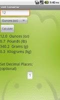 Screenshot of Kitchen Buddy(Timer&Converter)