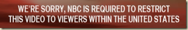 We're sorry, NBC is required to restrict this video to viewers within the United States