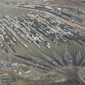 Who doesn't like trains? by Matt Mcclenahan - Transportation Railway Tracks