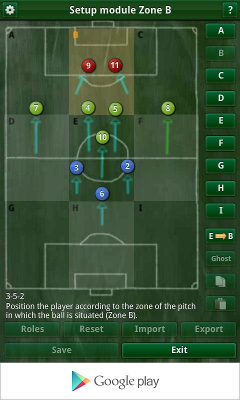 Karza Football Manag. 2014 - screenshot