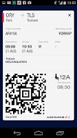 Screenshot of Air France