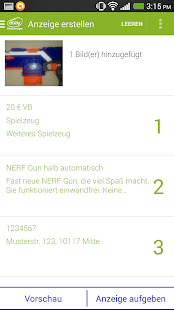 eBay Kleinanzeigen for Germany - screenshot thumbnail