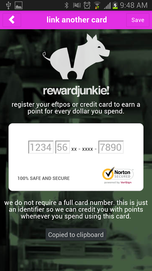 rewardjunkie! - screenshot