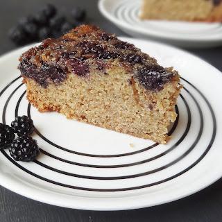 Blackberry Upside-Down Cake
